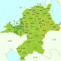 福岡県回収エリアマップ
